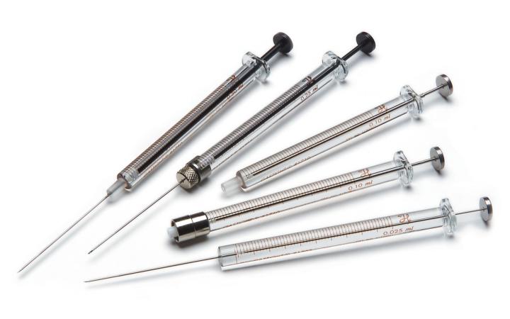 Gas Tight 1700 Series Syringes 1700 系列氣密注射器