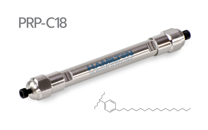 Polymer Packings PRP-C18 HPLC逆向層析管柱